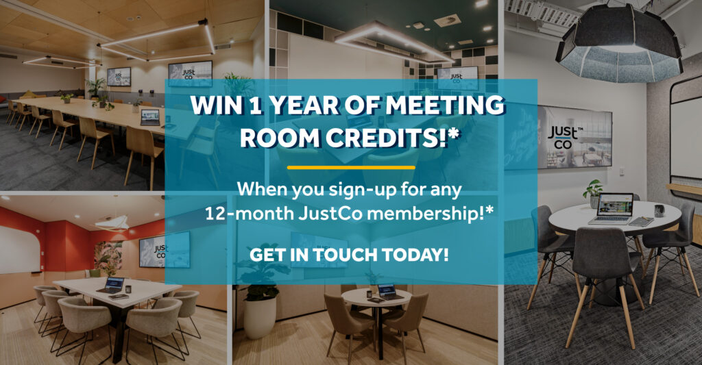 Wine 1 year of meeting room credits