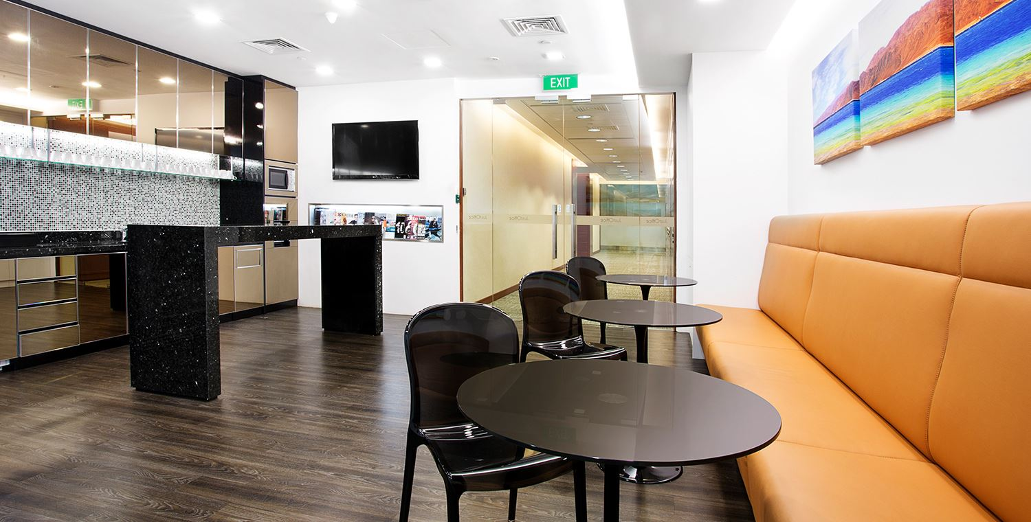 shared office space raffles place
