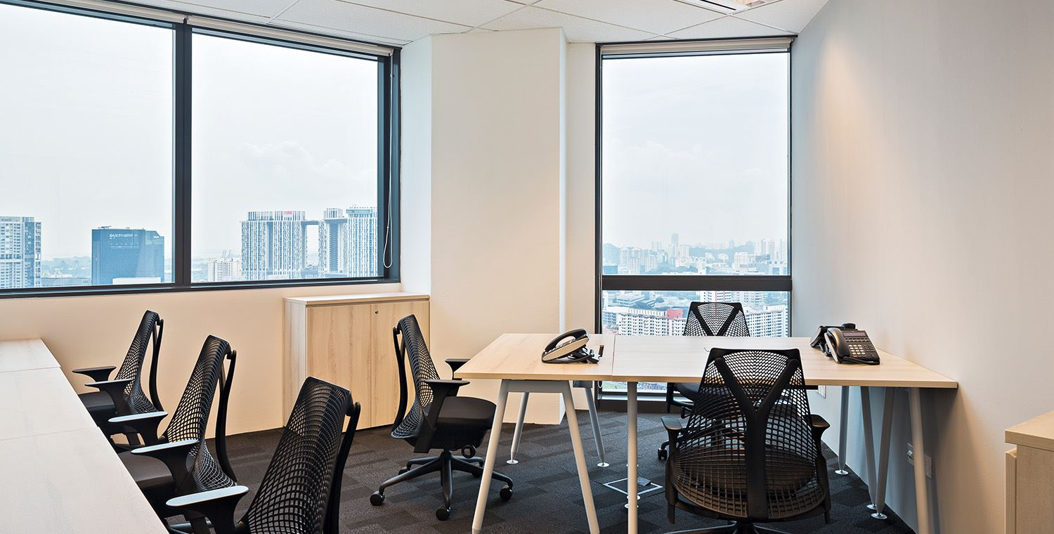 found coworking space singapore raffles place