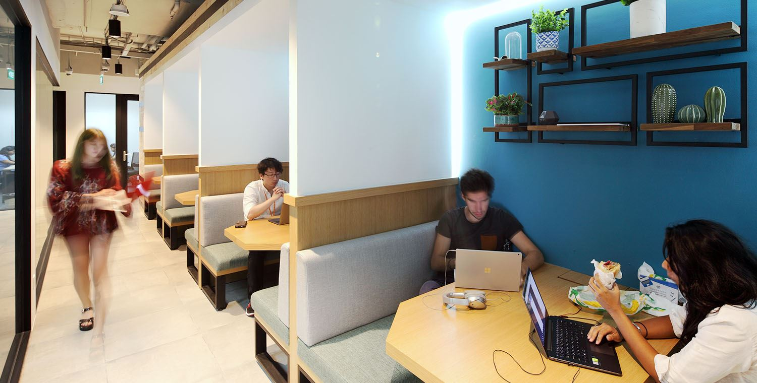 find office space singapore shenton way