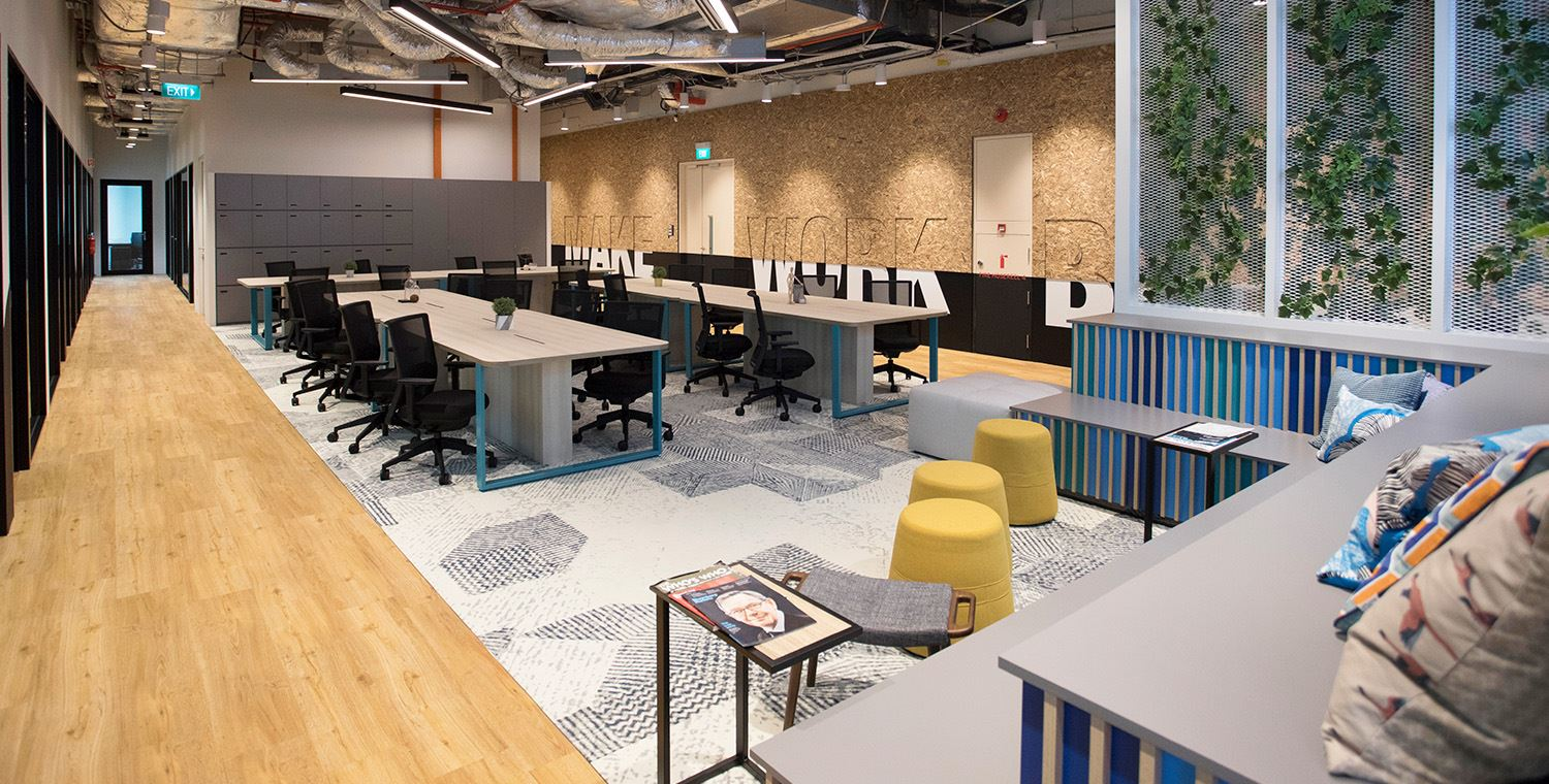 found coworking space singapore collyer quay