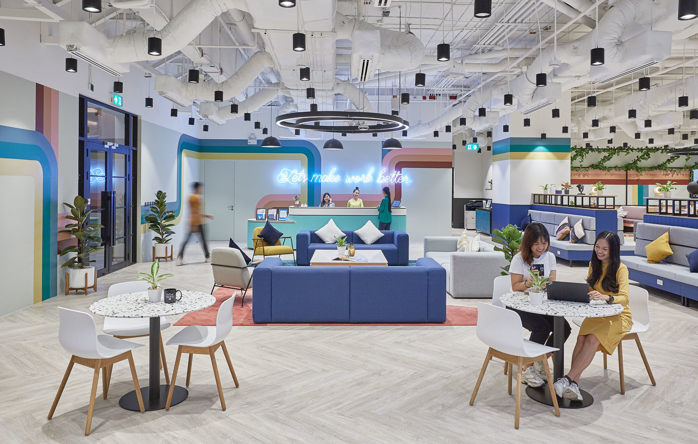 JustCo is Optimistic on the Future of Flexible Workspaces as Demand Rises  in the New Normal - Singapore Coworking Space & Hot Desking Office   JustCo