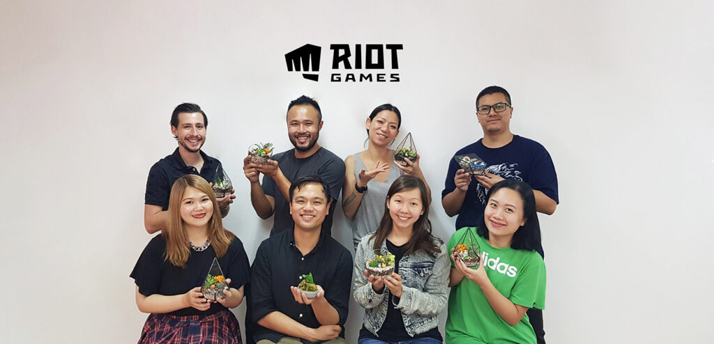 JustCo Singapore Riot Games