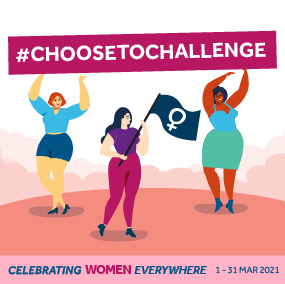 Contest: Stike a #Choosetochallenge Pose