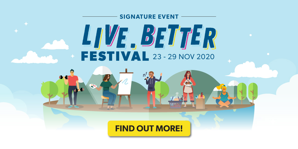 JustCo Live.Better Festival 2020